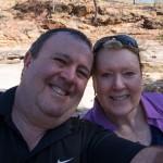 Joe and Lea at Porcupine Gorge