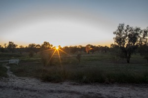 sunrise at Kidman's Camp